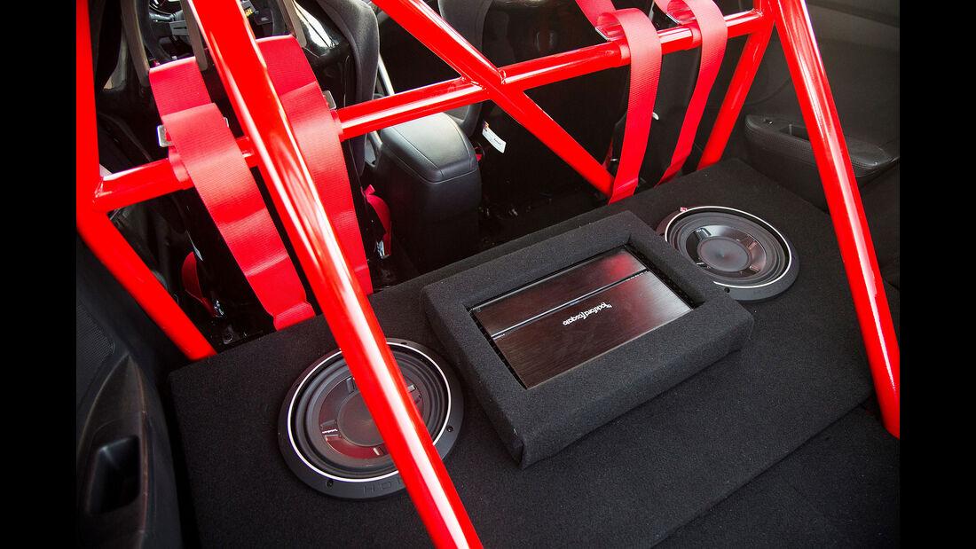 11/2015 Sema 2015 Hyundai Veloster Turbo BTR