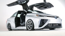 11/2015 Toyota auf der Sema 2015 Toyota Mirai Back to the Future