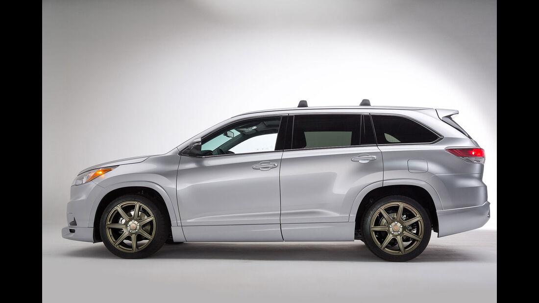 11/2015 Toyota auf der Sema 2015 Toyota TRD Highlander