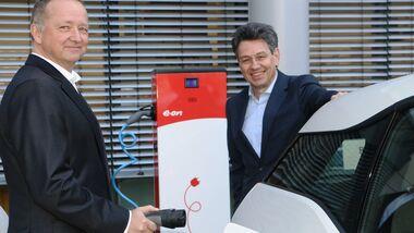 11/2017, EON Geschäftsführer Heinz Rosenbaum und Uwe Kolks