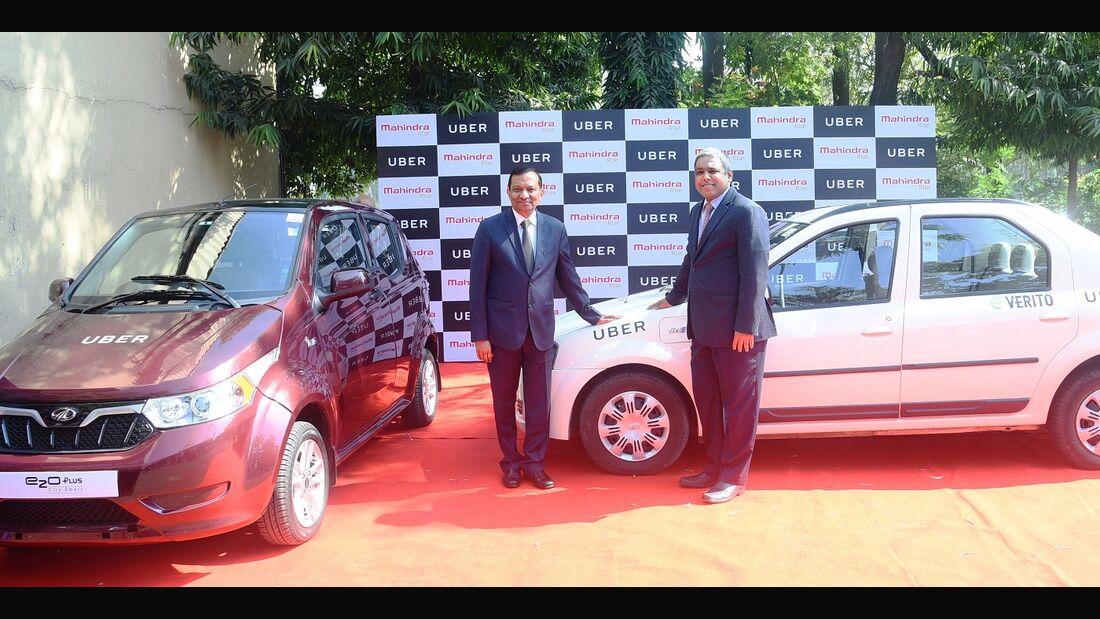 11/2017, Mahindra und Uber