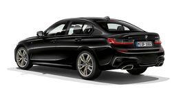 11/2018, BMW M340i xDrive Heck Seite Standbild