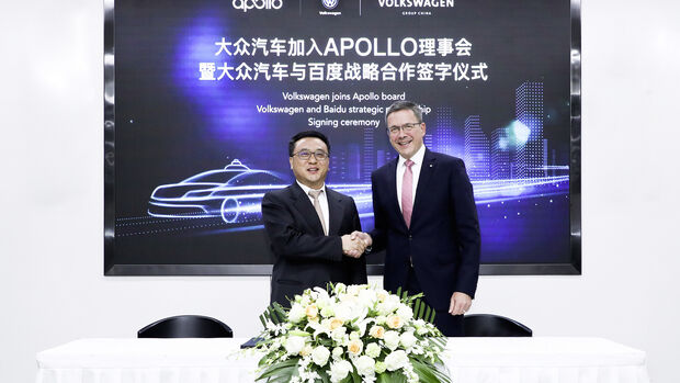 11/2018, Baidu VW Volvo