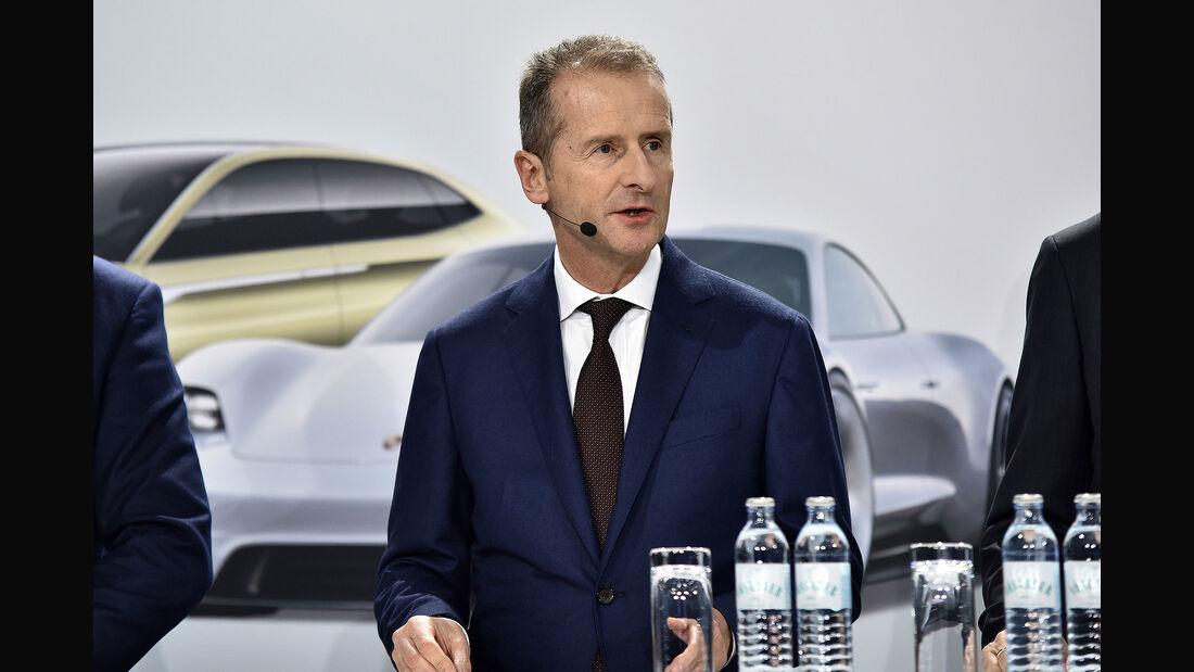 11/2018, Herbert Diess, Vorstandsvorsitzender des VW-Konzerns