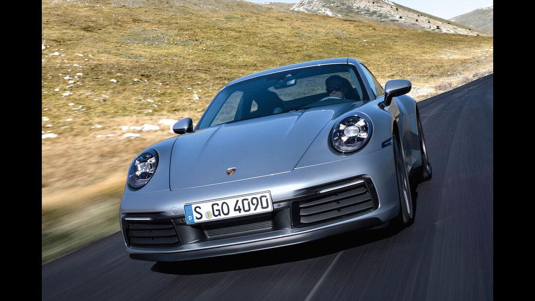 11/2018 Porsche 911 Typ 992.