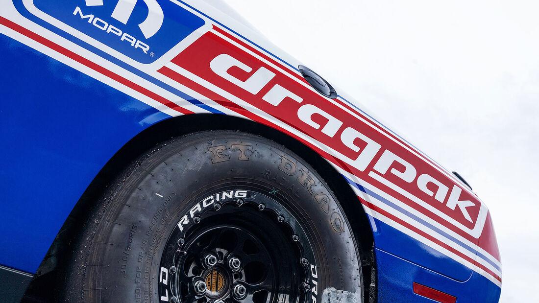 11/2019, 2020 Dodge Challenger Drag Pak auf der SEMA 2019