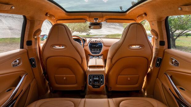 11/2019, Aston Martin DBX Interieur