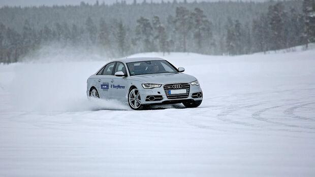 11/2019, Audi S6 im Schnee BorgWarner