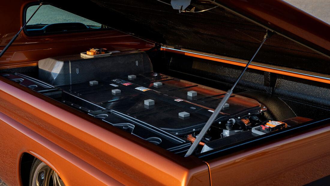 11/2019, Chevrolet E-10 mit Elektroantrieb auf der SEMA