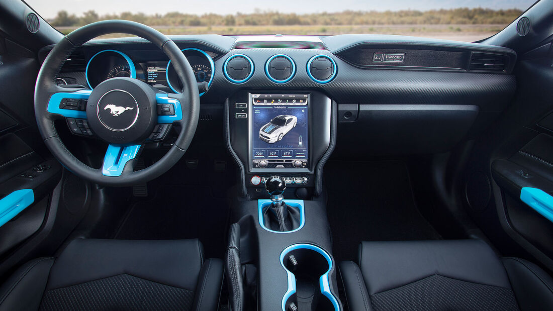 11/2019, Ford Mustang Lithium auf der SEMA 2019