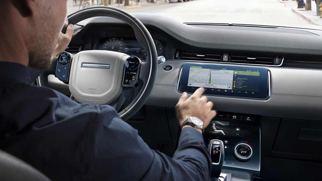 11/2019, Land Rover Infotainment