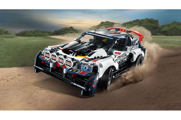ferngesteuertes rallyeauto von lego technic und bbc studios auto motor und sport. Black Bedroom Furniture Sets. Home Design Ideas
