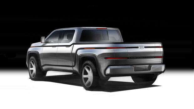11/2019, Lordstown Pickup mit Elektroantrieb