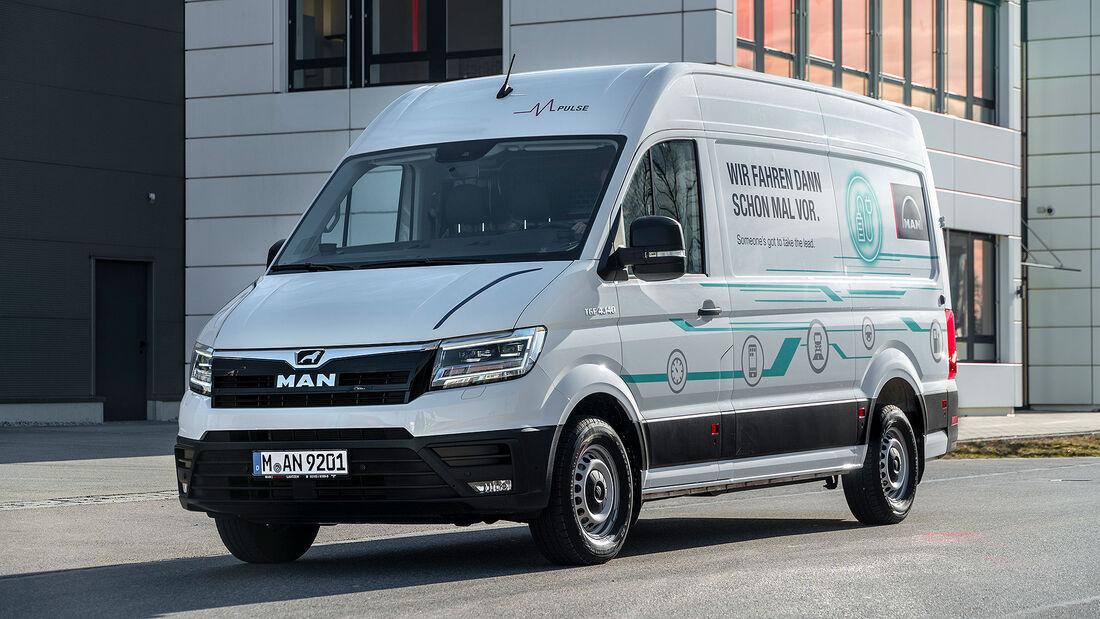 11/2019, MAN eTGE Elektro-Transporter