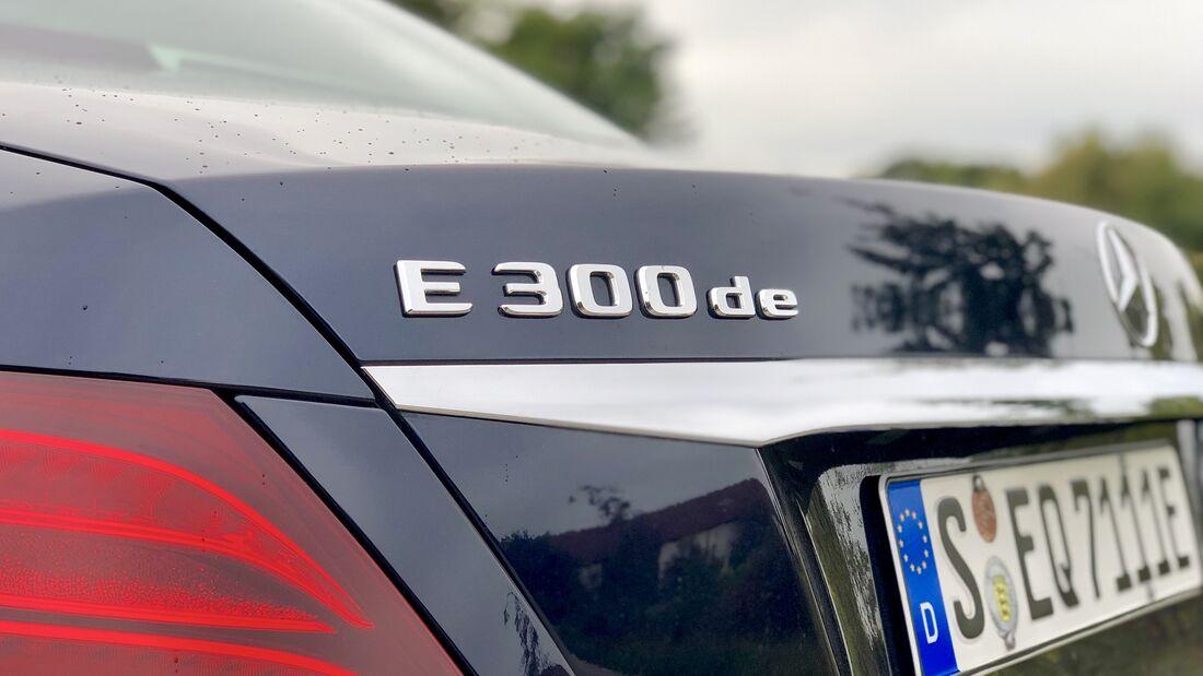 11/2019, Mercedes E 300 de Schriftzug