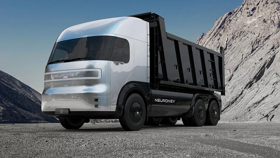 11/2019, Neuron EV LKW und Bus mit Elektroantrieb