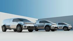 11/2019, Neuron EV Pickup und Transporter mit Elektroantrieb