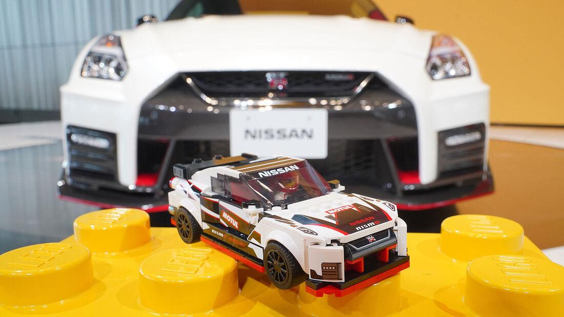 11/2019, Nissan GT-R Nismo von Lego