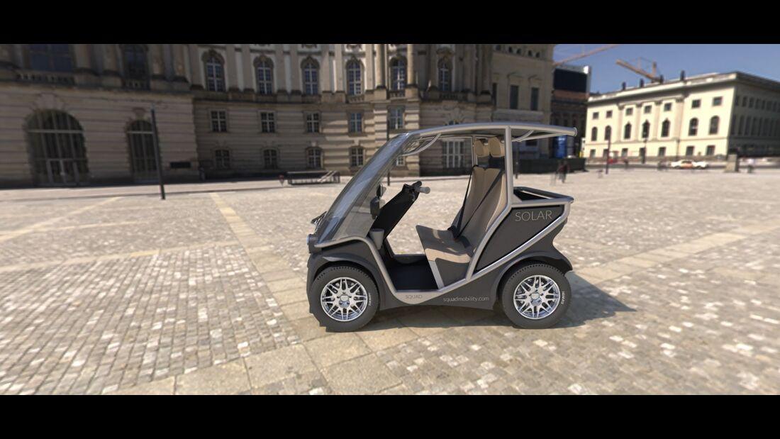 11/2019, Squad Solar Elektroauto