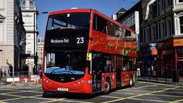 11/2020, Elektrobus London