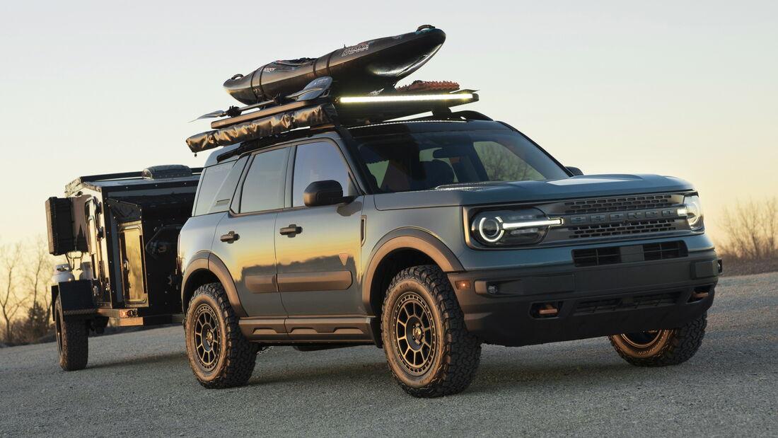 11/2020, Ford Bronco Sport auf der SEMA 2020