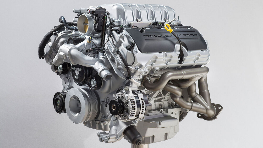 11/2020, Ford Mustang Shelby GT500 Motor