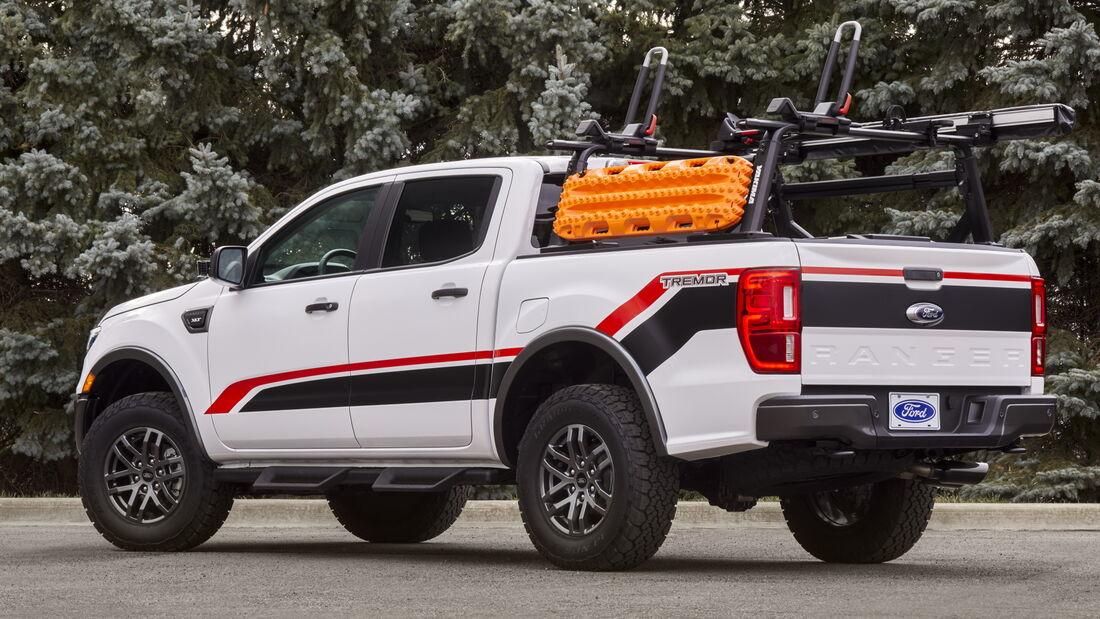 11/2020, Ford Ranger XLT auf der SEMA 2020