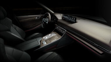 11/2020, Genesis GV80 Cockpit