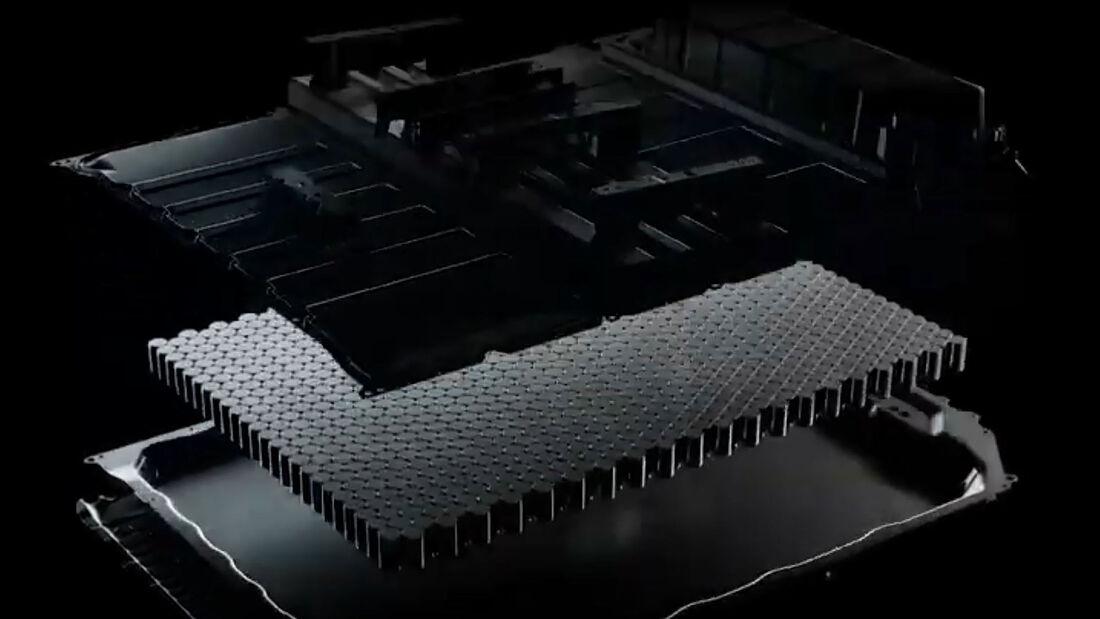 11/2020, Infografik Tesla 4680 Batteriezelle