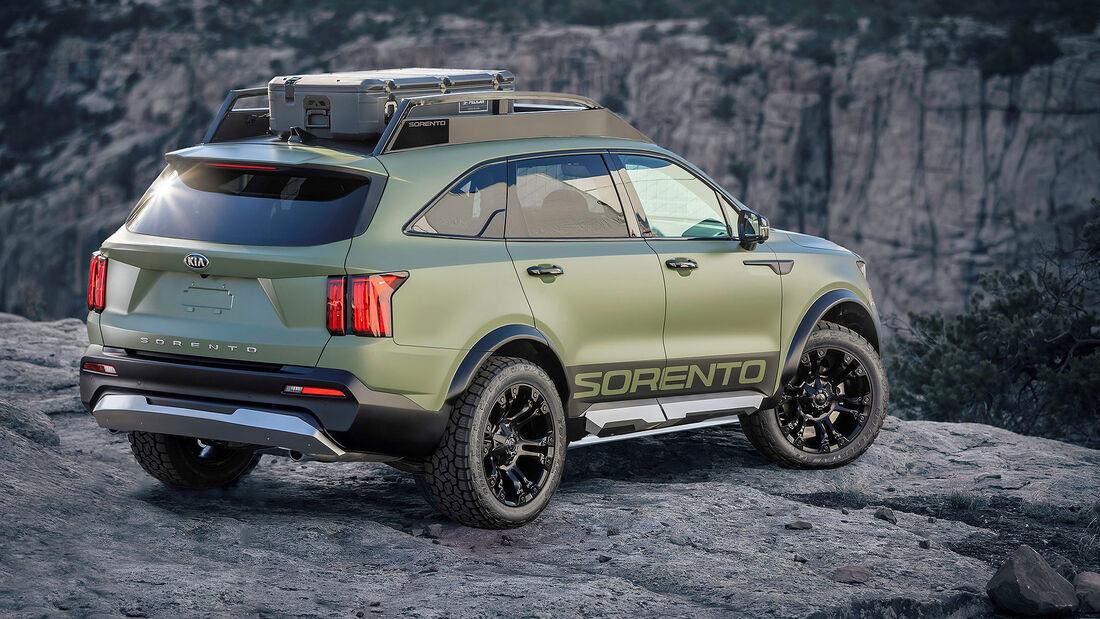 11/2020, Kia Sorento Yosemite Edition