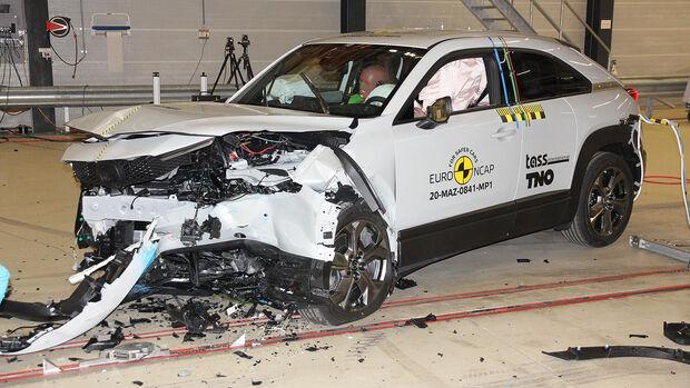 11/2020, Mazda MX-30 EuroNCAP Crashtest