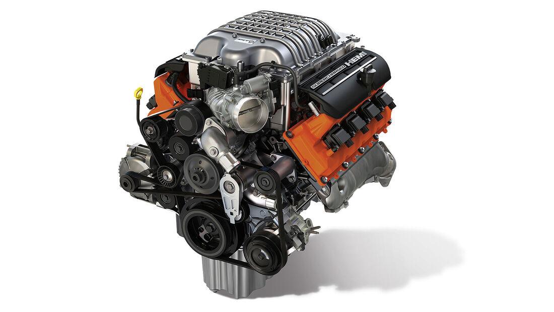 11/2020, Mopar Hellcrate Engine 717 PS