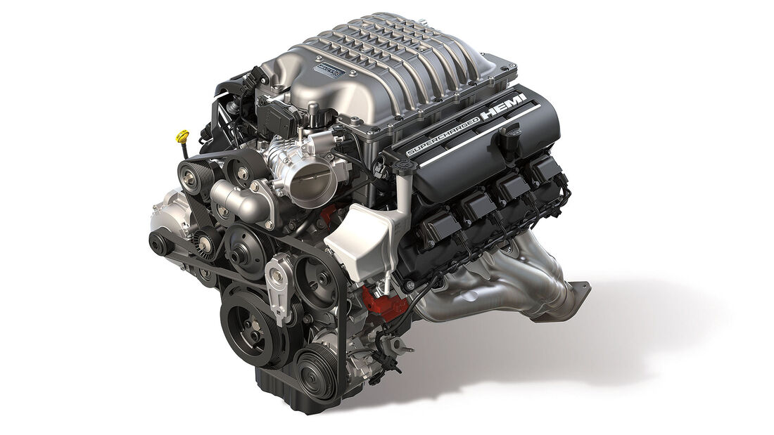 11/2020, Mopar Hellcrate Redeye Crate Engine 818 PS