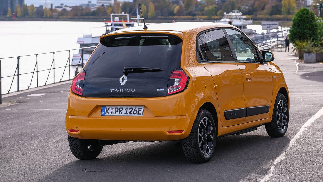 11/2020, Renault Twingo Electric Fahrbericht