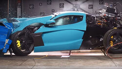 11/2020, Rimac C_Two Frontal Offset Crashtest