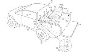 11/2020, Rivian R1T Wechselakku Patentzeichnung