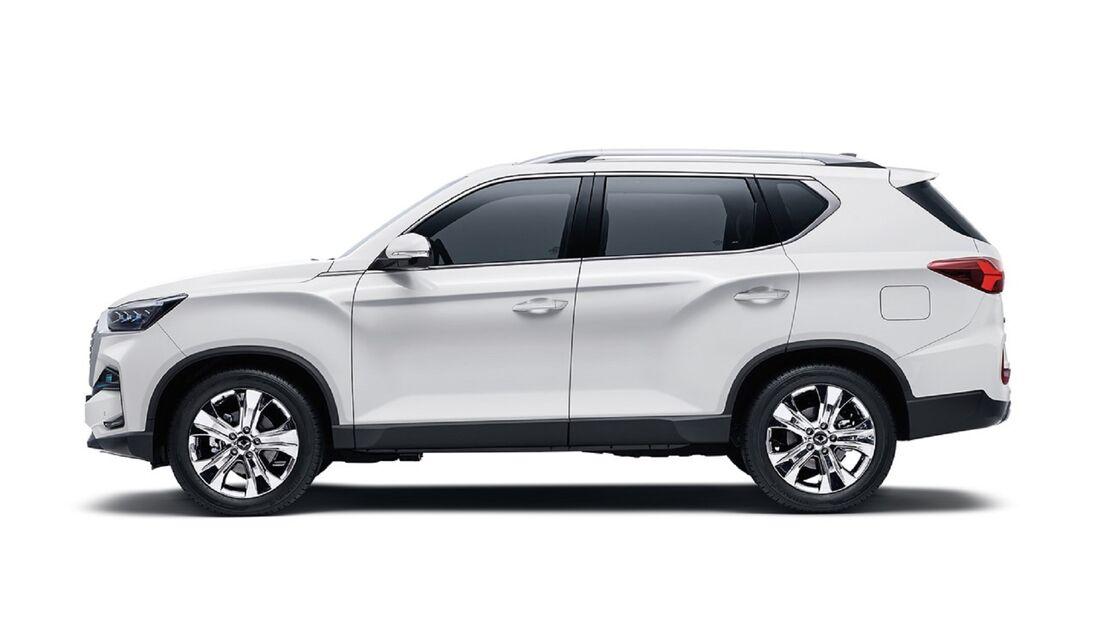 11/2020, SsangYong Rexton Facelift 2021