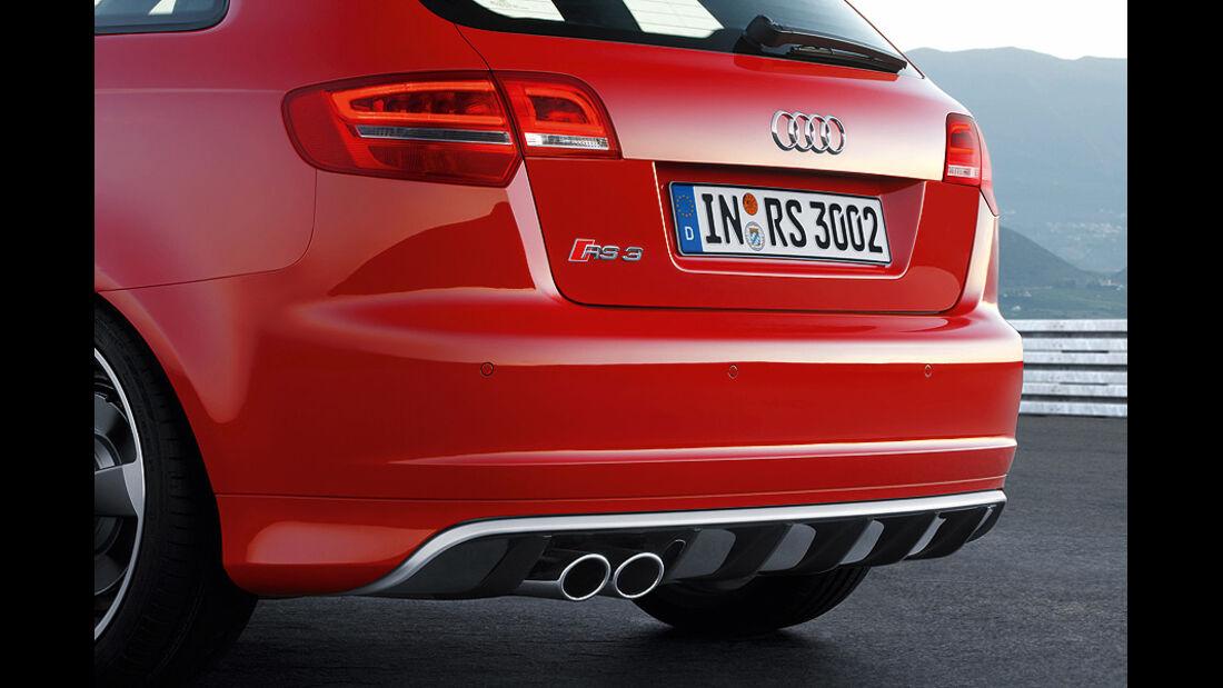 1110, Audi RS3, A3, Audi, Kompaktsportler, Heckschürze