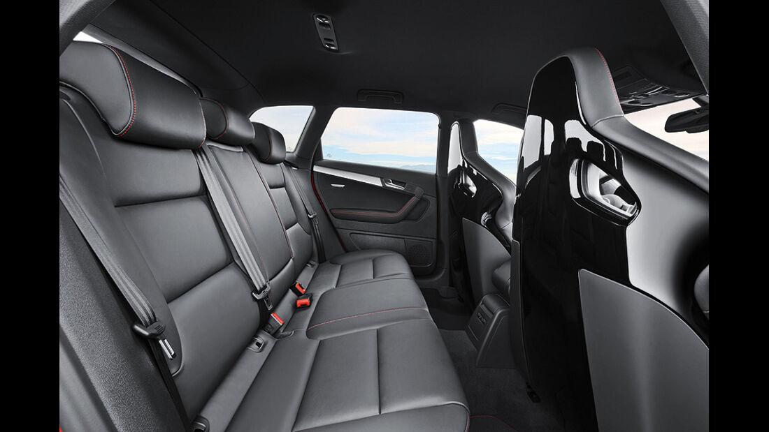 1110, Audi RS3, A3, Audi, Kompaktsportler, Innenraum, Rückbank