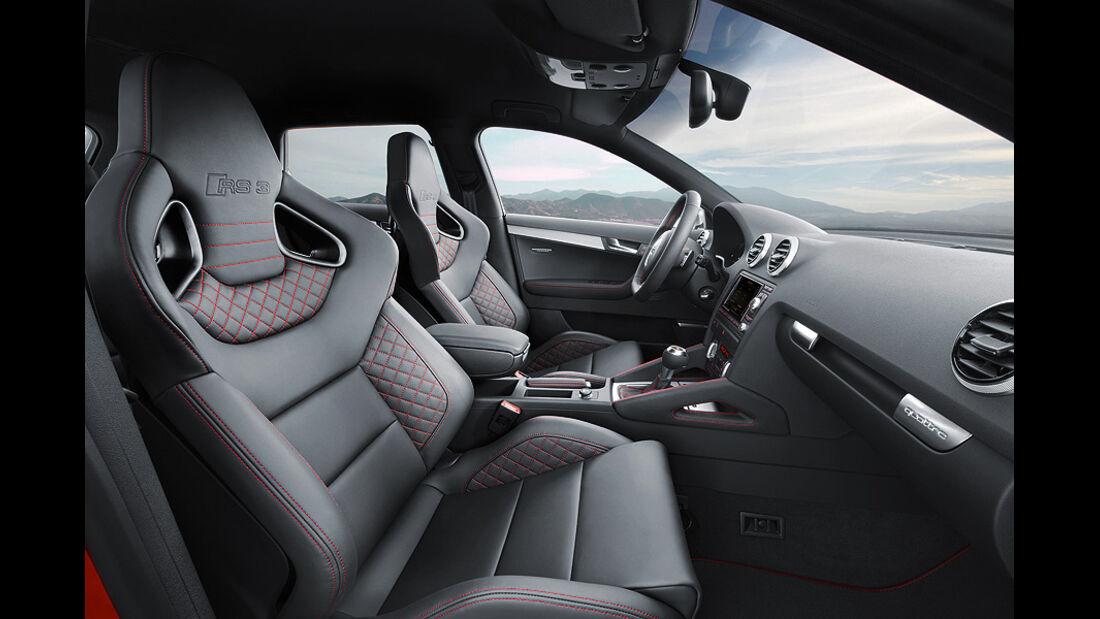 1110, Audi RS3, A3, Audi, Kompaktsportler, Vordersitze