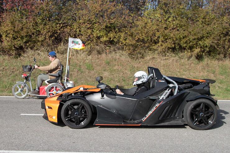 1110, Bild des Tages KTM X-Bow