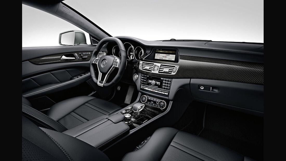1110, Mercedes CLS 63 AMG, Innenraum