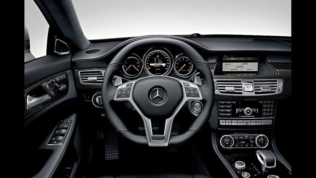 1110, Mercedes CLS 63 AMG, Lenkrad