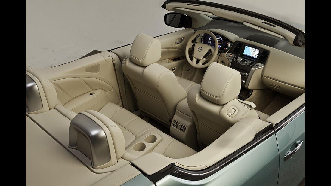 1110, Nissan Murano CC CrossCabriolet, Innenraum