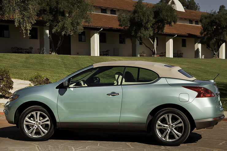 Nissan Murano Crosscabriolet In L A Suv Cabrio Mit Vier