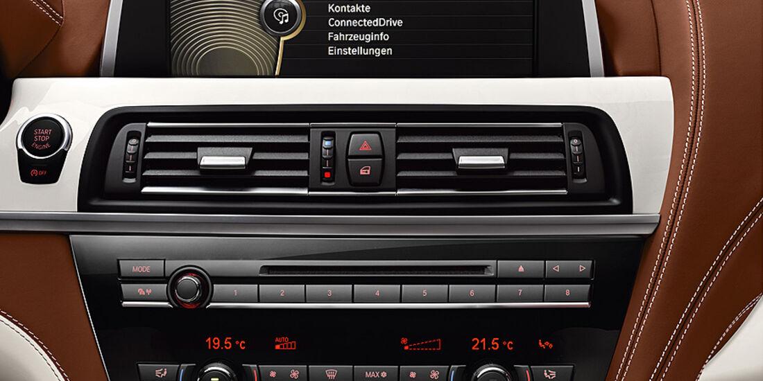 12/2011 BMW 6er Gran Coupé, Innenraum