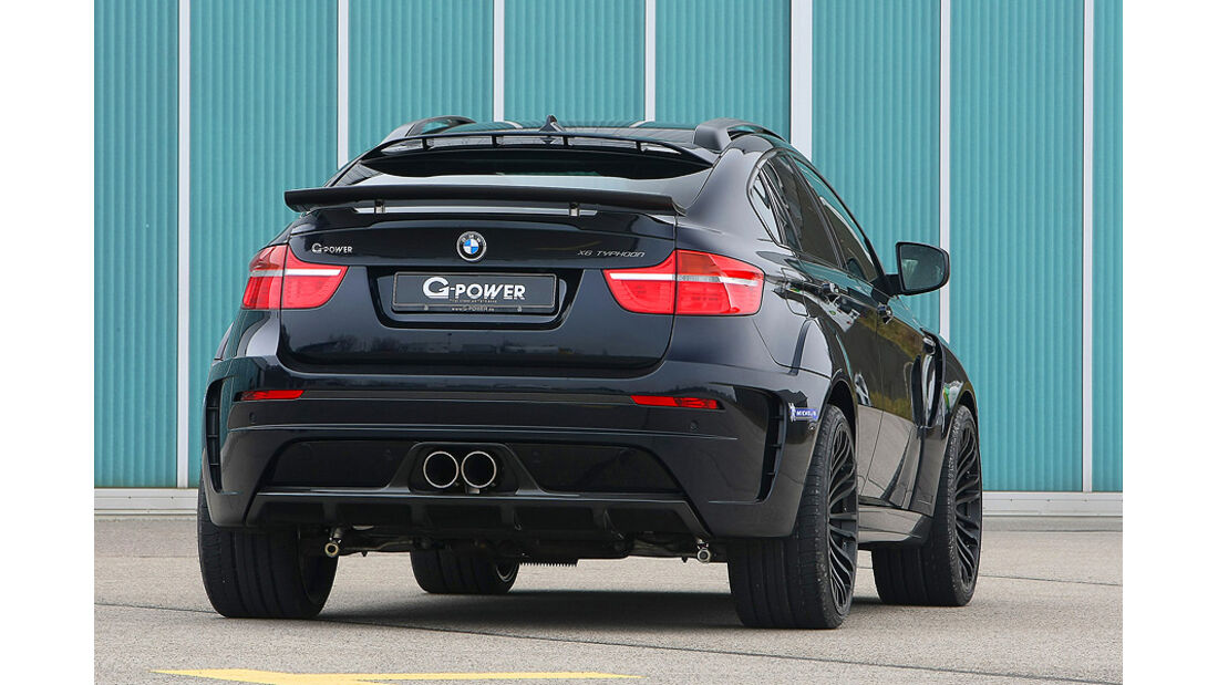 12/2011 G-Power BMW X6 M Typhoon