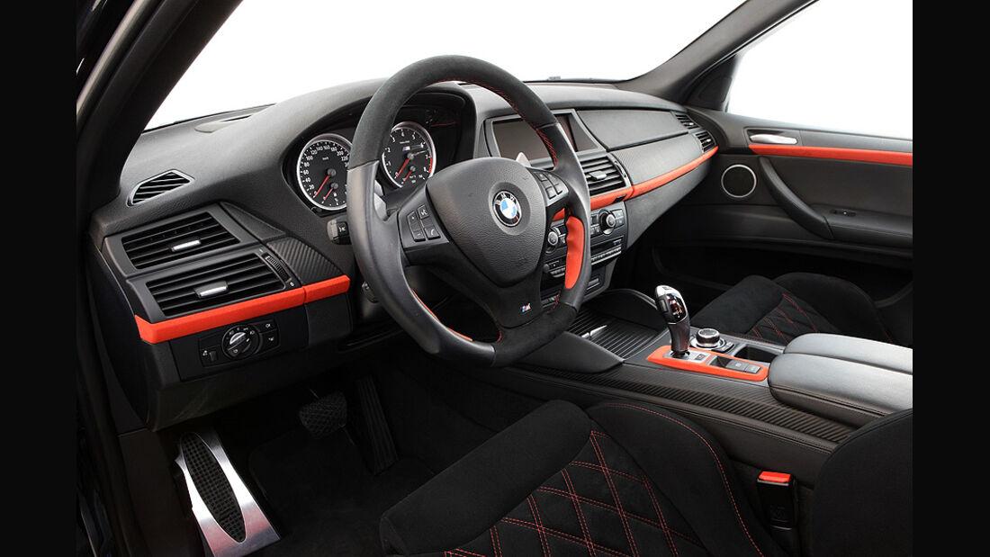 12/2011 G-Power BMW X6 M Typhoon, Innenraum