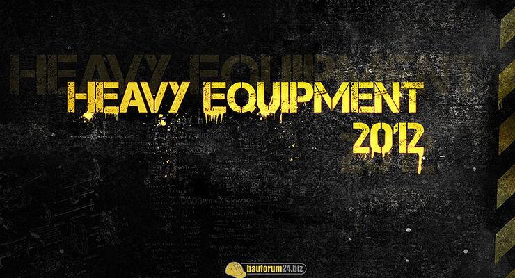 12/2011 Heavy Equipement Kalender 2012, Baumaschine
