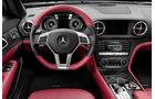 12/2011 Mercedes SL, Innenraum